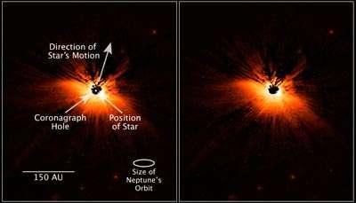 Circumstellar Dust Takes Flight in 'The Moth'