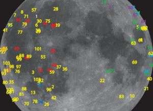 100 Explosions on the Moon