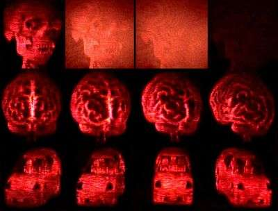 3D breakthrough with updatable holographic displays