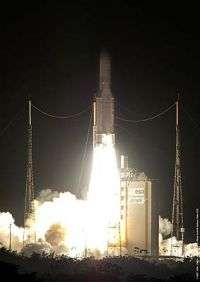 Ariane 5 - second launch of 2008