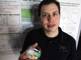 Boosting the power of solar cells
