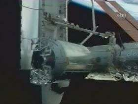 Columbus installed in new home on ISS