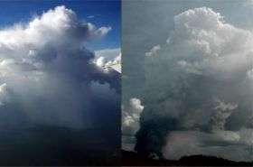 Dirty air brings rain -- then again, maybe not