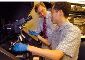 Engineers make first 'active matrix' display using nanowires