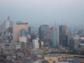 Haze Hangs OVer Mexico City