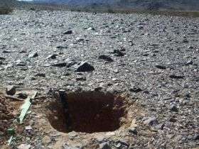 Large source of nitrate, a potential water contaminant, found in near-surface desert soils