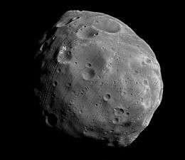 Mars' moon Phobos