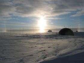 North Greenland Ice Core Camp