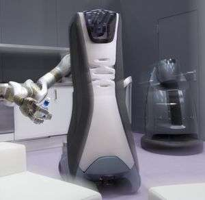 Care-O-bot 3: Always at your service