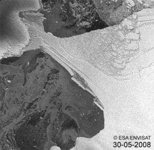 The Break-up of Wilkins Ice Shelf