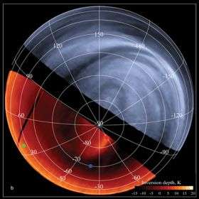 Venus comes to life at wavelengths invisible to human eyes
