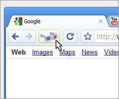 Google Chrome with 3D