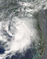 Tropical Storm Claudette makes landfall in Florida, moving into Mississippi