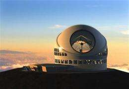World's largest telescope to be built in Hawaii (AP)