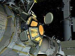 Space Station Room With a View