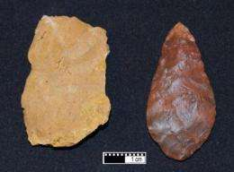 Early modern humans use fire to engineer tools from stone