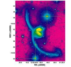 Research Team Discover New Tidal Debris from Colliding Galaxies
