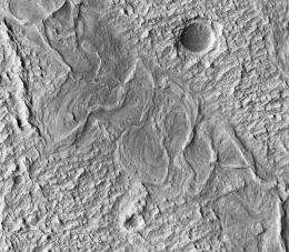 The Meandering Channels of Mars