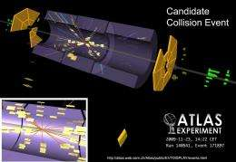 First atoms reported smashed in Large Hadron Collider