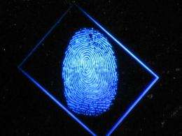Security ID cards with built-in holograms