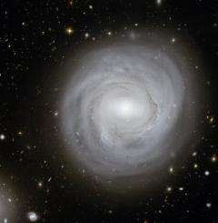 A file photo of a spiral galaxy