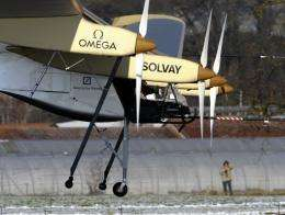 Aircraft dubbed 'Solar Impulse', HB-SIA prototype, flies for the first time