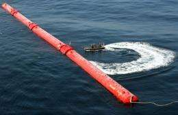 An off-shore electricity generator based on wave power off of Portugal?s coast