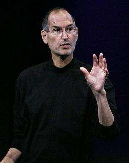 Apple chief executive Steve Jobs