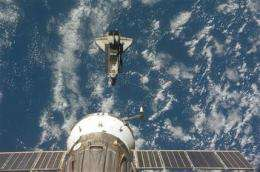 Astronaut bringing test underwear back to Earth (AP)
