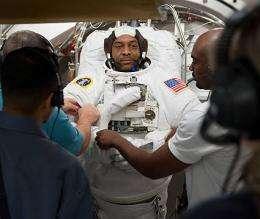 Atlantis 'Go' For Launch to Station on Nov. 16