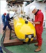 Autosub6000 dives to depth of 3.5 miles