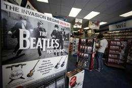 Beatles, Stones, Super Mario: big autumn for games (AP)