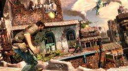 Behind the scenes of 'Uncharted 2: Among Thieves' (AP)
