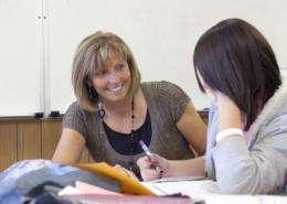 Benefit of a mentor: Disadvantaged teens twice as likely to attend college