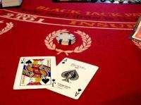 Blackjack, cards