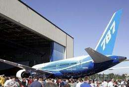 Boeing's new 787 Dreamliner is scheduled to make its first test flight