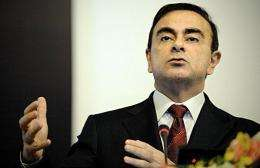 Chairman and CEO of Renault-Nissan Alliance Carlos Ghosn