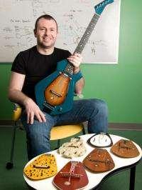 'Chameleon Guitar' blends old-world and high-tech