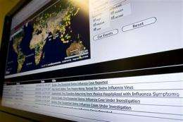 Companies mine Web clues for signs of pandemics (AP)
