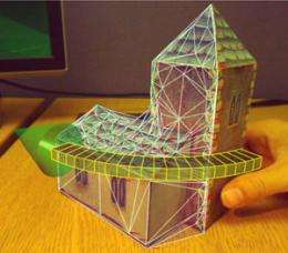 Creating 3D models with a simple webcam