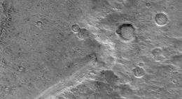 Distal Rampart of Crater in Chryse Planitia
