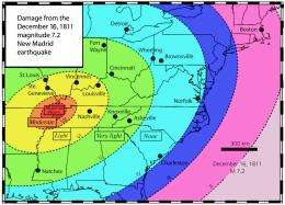 New Madrid fault system may be shutting down