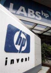 HP's profit up 14 pct despite sales drop (AP)