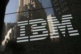 IBM sees better profit despite tech sales slump (AP)