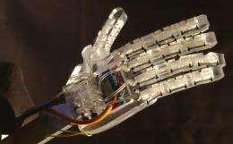Improved robotic hand captures mechanical engineering top award