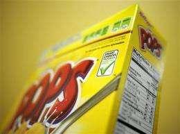 Industry backs off food labels after FDA criticism (AP)