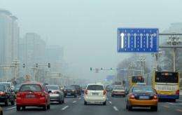 It took Beijing 48 years for the number of vehicles to increase from 2,300 in 1949 to the first 1 mln in 1997