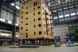Massive earthquake simulation could lead to stronger, safer wooden buildings