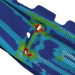 Dual simulation improves crash performance