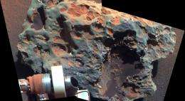 Meteorite Found on Mars Yields Clues About Planet's Past
